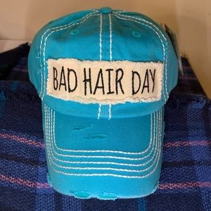 Accessories - Bad Hair Day cap in teal